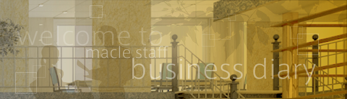 Welcome to Macle Staff Business Diary
